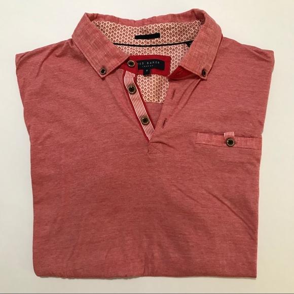 021d15945 Ted Baker London Slim Fit Polo Shirt. M 5b68e550dcf8550d00f22130